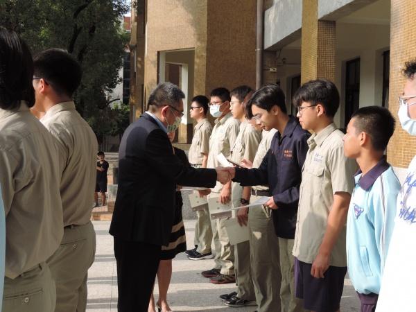 校友總會獎學金基金會頒發110學年第二學期獎學金-9